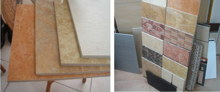 ceramic-tile manufactured by drybody system