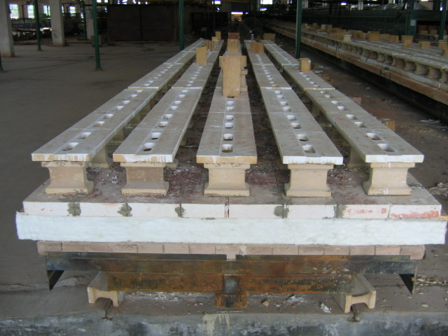 tunnel kiln car for clay roofing tiles photos