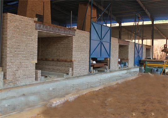 clay brick tunnel kiln overall photos