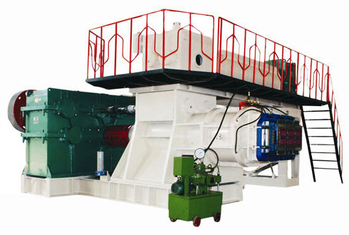 double-stage-brcik-extruder overall photos
