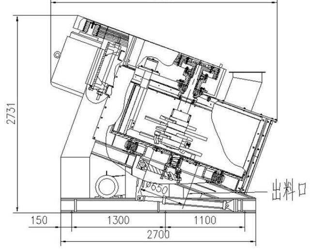 R19 intensive mixer drawing