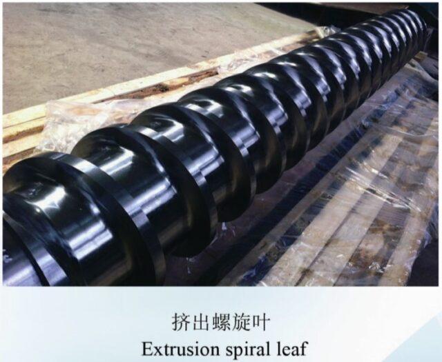 scr catalyst extruder screw blade