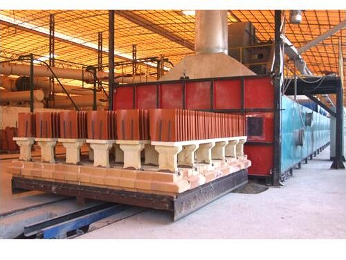 tunnel-kiln for clay roofing photostiles